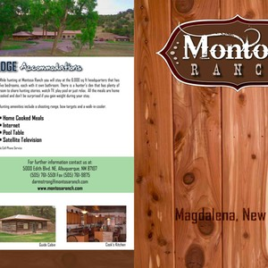 Montosa Hunting web brochure